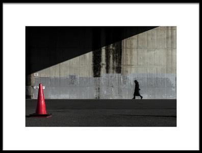 Art print titled No. Trespassing by the artist Tetsuya Hashimoto