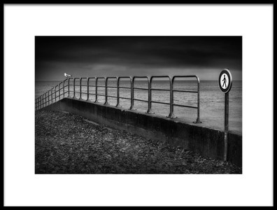 Art print titled No. Trespassing by the artist Marc Apers