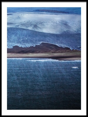 Buy this art print titled Nordic Blue by the artist margit lisa roeder