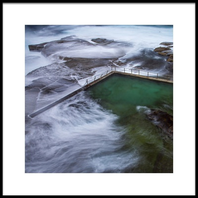 Art print titled North Curl Curl by the artist Chris Jones