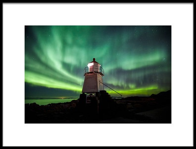 Buy this art print titled Northen Lighthouse by the artist Jorge Feteira