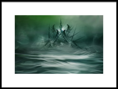 Art print titled Northern Fantasy by the artist Willy Marthinussen