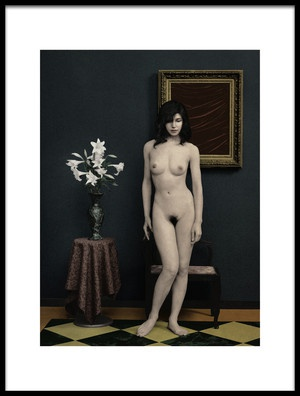 Buy this art print titled Nu Dans La Chambre by the artist Fuyuki Hattori