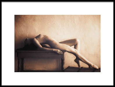 Art print titled Nude by the artist Naoya Nakagawa