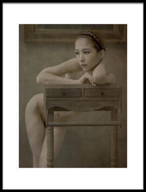 Art print titled Nude by the artist Fuyuki Hattori