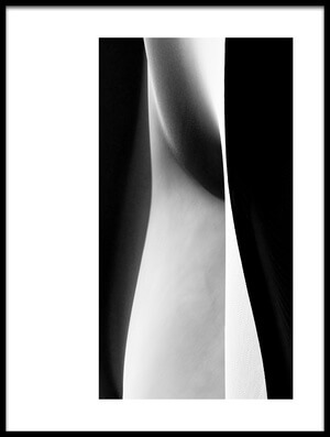 Art print titled Nude Dunes by the artist Mohammadreza Momeni