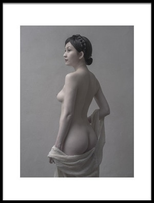Buy this art print titled Nude Showing Back by the artist Fuyuki Hattori