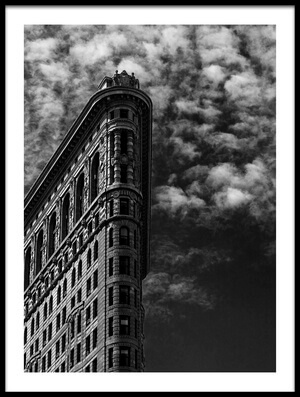 Art print titled NYC, Flatiron by the artist Francesco Santini