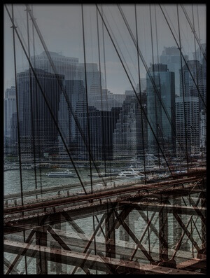 Art print titled Nyc Ii by the artist Massimo Della Latta