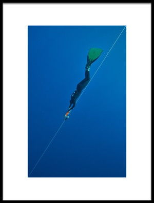 Buy this art print titled Obliquely to Abyss by the artist Assaf Gavra