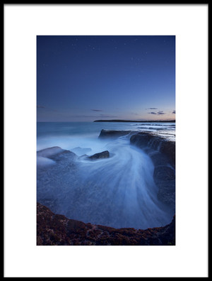 Buy this art print titled Ocean Symphony by the artist Yan Zhang