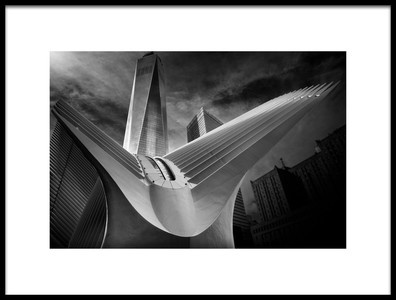 Art print titled Oculus 01 by the artist Alessio Forlano