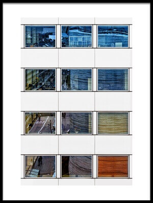 Art print titled Offices by the artist Dennis Mohrmann