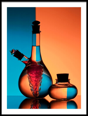 Buy this art print titled Oil and Vinegar by the artist Aida Ianeva