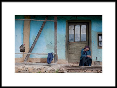 Buy this art print titled Old and Blue by the artist Codruta Georgescu