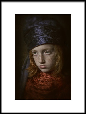 Art print titled Old Fashion Boy by the artist Carola Kayen-Mouthaan