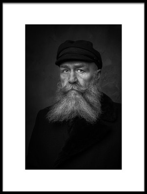 Buy this art print titled Old Sailor by the artist Gareth Jenkins