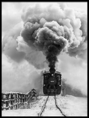 Buy this art print titled Old Train by the artist Sveduneac Dorin Lucian