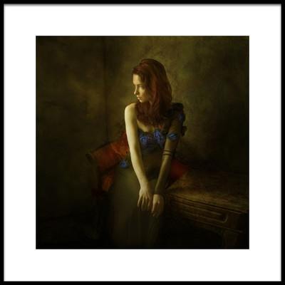 Art print titled Olya by the artist Mike Darzi