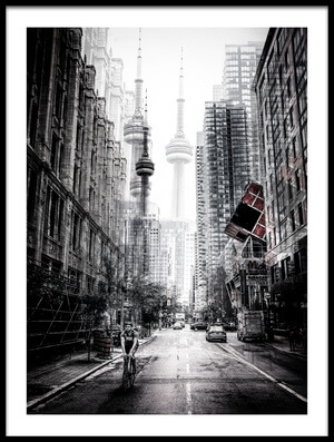 Buy this art print titled On the Streets of Toronto by the artist Carmine Chiriacò