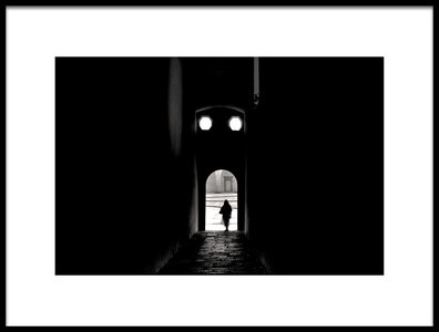 Buy this art print titled On the Threshold by the artist Giulio Sangiuliano