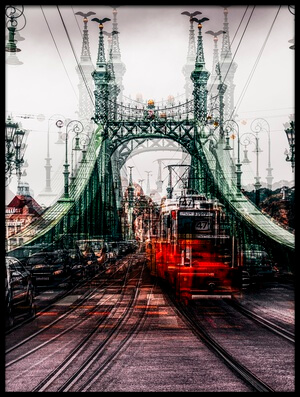 Buy this art print titled On the Tram by the artist Carmine Chiriacò