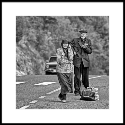 Art print titled On the Way by the artist Eyal Bussiba