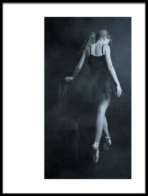 Buy this art print titled On Tip Toes by the artist Olga Mest