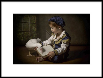 Art print titled Once Upon a Time by the artist Carola Kayen-Mouthaan