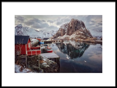 Art print titled Once Upon a Time In the Arctic by the artist Vincent Croce
