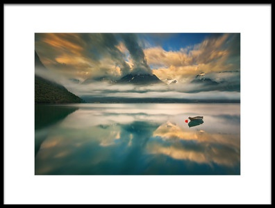 Art print titled One by the artist Krzysztof Browko