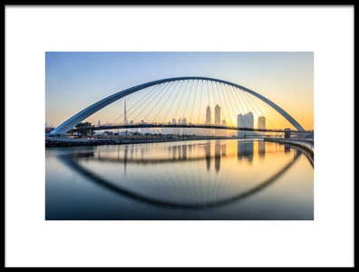 Art print titled One Arch Fits All by the artist Mohammed Shamaa