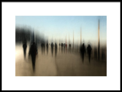 Buy this art print titled One Direction, Different Destinations by the artist Bruno Flour