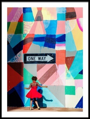 Buy this art print titled One Way by the artist Gloria Salgado Gispert