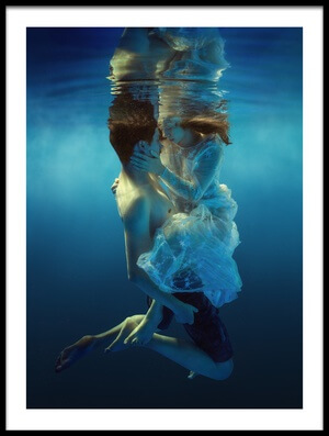 Art print titled Only Two by the artist Dmitry Laudin