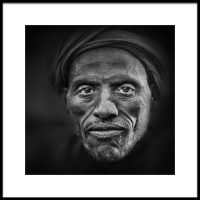 Art print titled Openeyed by the artist Marc Apers