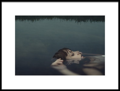 Buy this art print titled Ophelia by the artist claudia méndez cordero