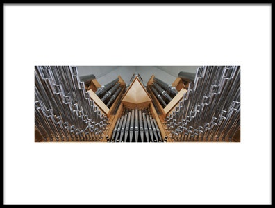 Art print titled Organ by the artist Bragi Ingibergsson - BRIN