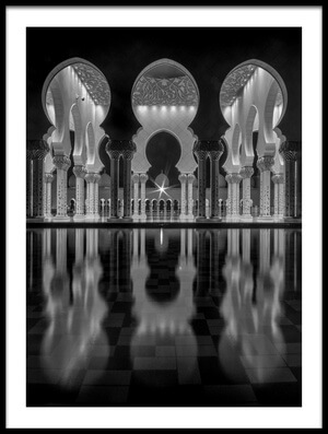 Buy this art print titled Oriental Night by the artist Ahmed Thabet
