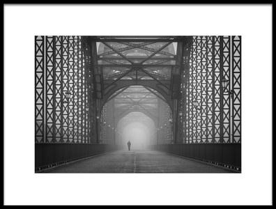 Art print titled Out of the Mist by the artist Alexander Schönberg