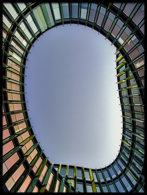 Art print titled Oval by the artist Holger Schmidtke