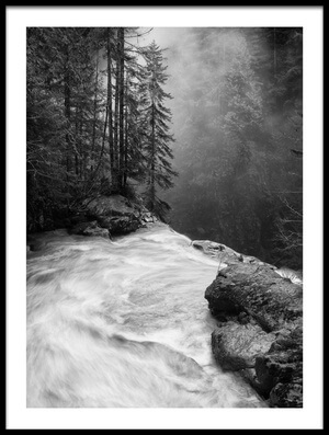 Buy this art print titled Over the Falls II by the artist James K. Papp