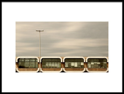 Art print titled Over the Highway by the artist Jutta Kerber
