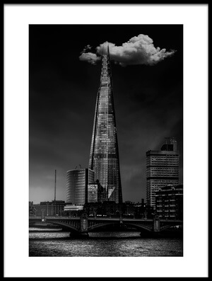 Art print titled Over the Shard by the artist Jackson Carvalho