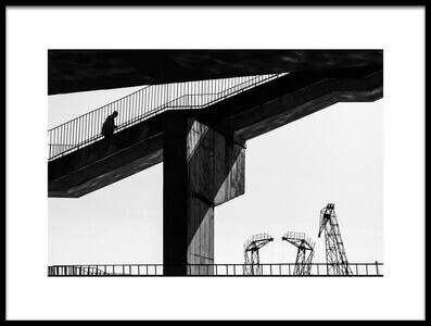 Buy this art print titled Overpass by the artist Anna Niemiec