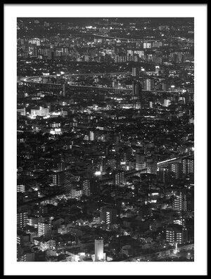 Art print titled Packed Space by the artist Koji Tajima