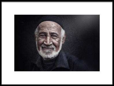 Art print titled Pain of Life by the artist Husain ALSaeed