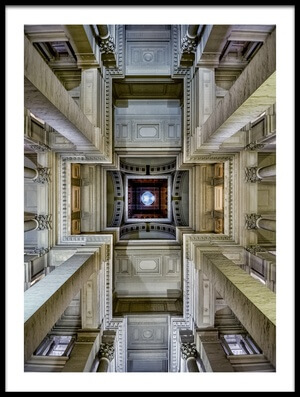 Buy this art print titled Palais De Justice by the artist Renate Reichert