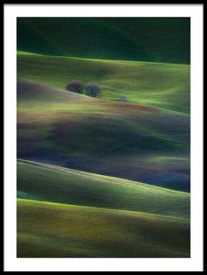 Buy this art print titled Palette of Winter Dusk by the artist Marek Boguszak