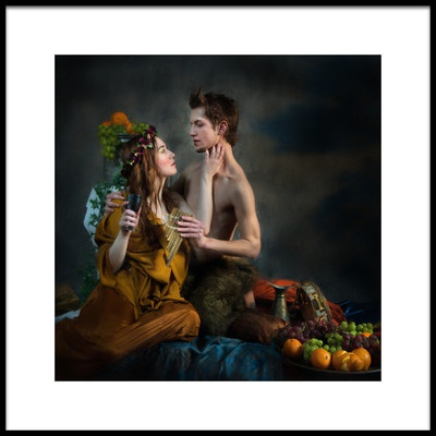 Buy this art print titled Pan and Psyche by the artist Derek Galon MA FRPS FOPS